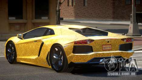 Lamborghini Aventador JRV PJ6 para GTA 4
