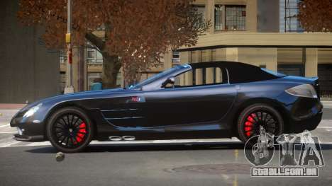 Mercedes-Benz SLR RTF para GTA 4