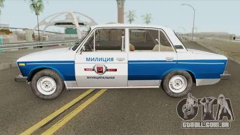 VAZ 2106 (Polícia Municipal) para GTA San Andreas