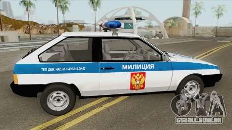 VAZ 2108 DPS (MQ) para GTA San Andreas