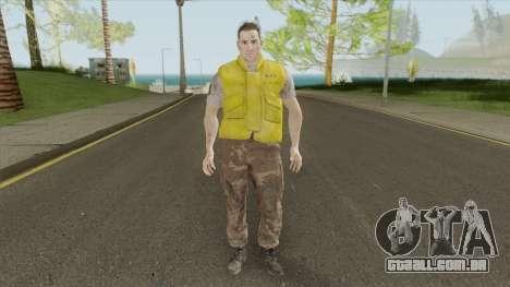 Brad (RE3 Remake) para GTA San Andreas