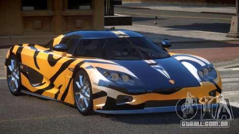 Koenigsegg CCX S-Tuned PJ5 para GTA 4