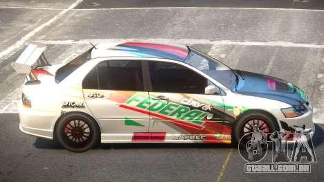 Mitsubishi Lancer S-Tuned PJ6 para GTA 4