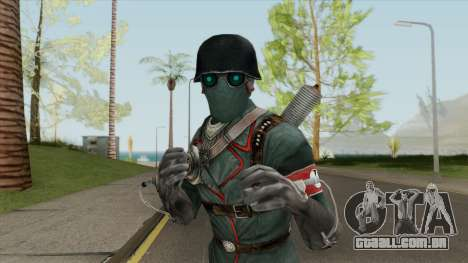 Veil Assassin (Wolfenstein) para GTA San Andreas