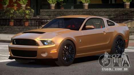 Ford Shelby GT500 ML para GTA 4