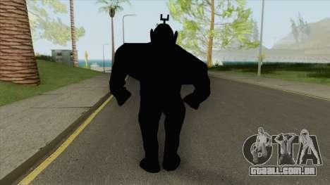 Shadow Tubbie (SlendyTubbies 3) para GTA San Andreas