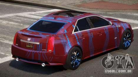Cadillac CTS-V LR PJ1 para GTA 4