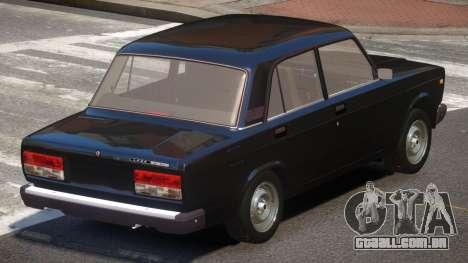 VAZ 2107 Stock V2.1 para GTA 4