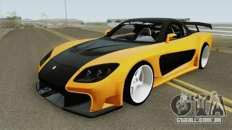 Mazda RX-7 (VeilSide) para GTA San Andreas