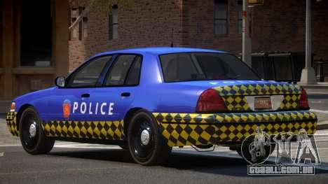 Ford Crown Victoria LT Police para GTA 4