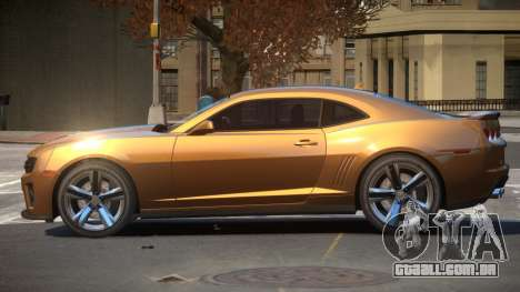 Chevrolet Camaro ZL1 V2.2 para GTA 4