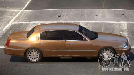 Lincoln Town Car V1.1 para GTA 4