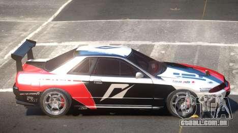 Nissan Skyline R32 D-Style PJ4 para GTA 4
