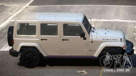Jeep Wrangler LT para GTA 4