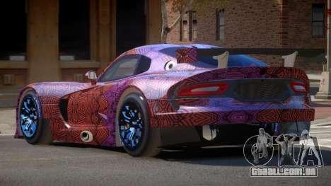 Dodge Viper SRT L-Tuning PJ6 para GTA 4