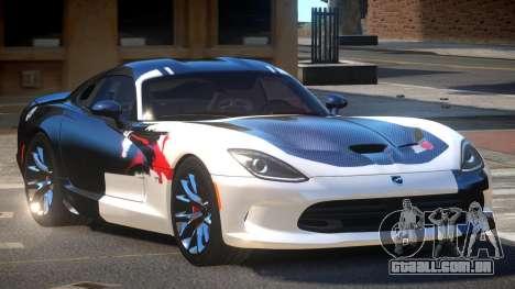 Dodge Viper SRT D-Tuned PJ2 para GTA 4