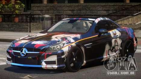 Mercedes SLK55 RG38 PJ3 para GTA 4