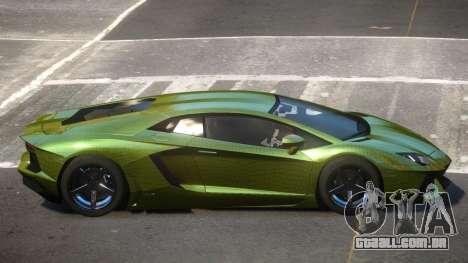 Lamborghini Aventador S-Style PJ4 para GTA 4