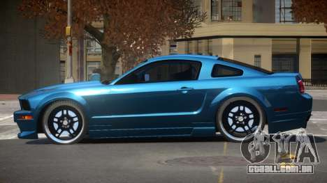 Ford Mustang GT UG98 para GTA 4