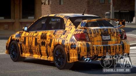 Subaru Impreza S-Tuned PJ5 para GTA 4