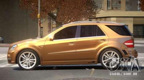 Mercedes Benz ML63 B-Style para GTA 4