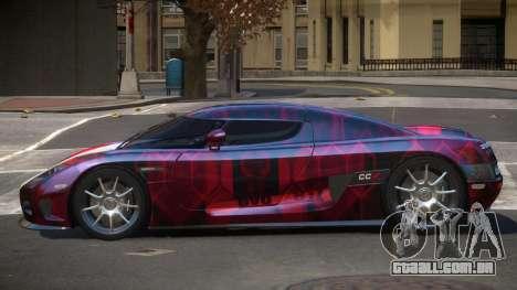 Koenigsegg CCX S-Tuned PJ3 para GTA 4
