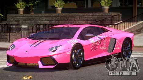 Lamborghini Aventador LP700 RP PJ4 para GTA 4