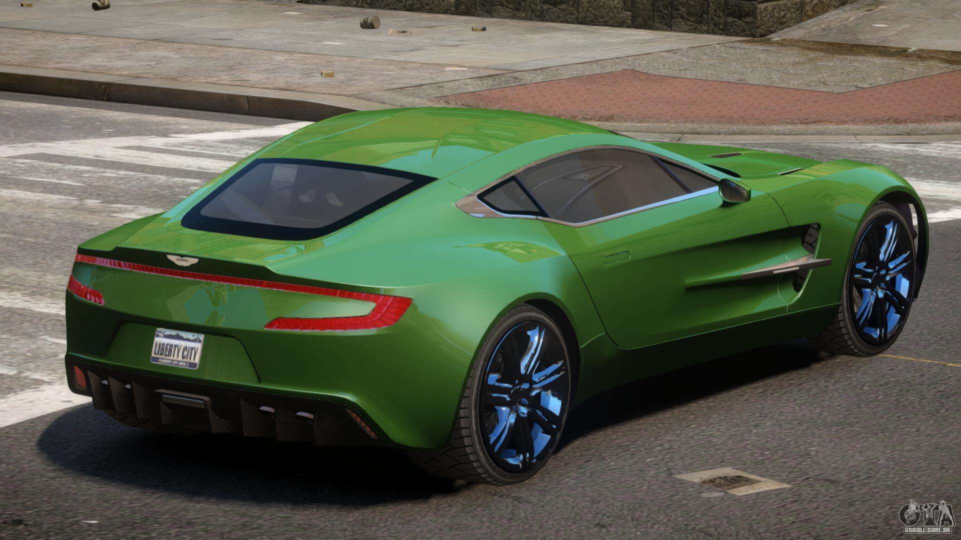 Aston Martin One 77 Ls Para Gta 4