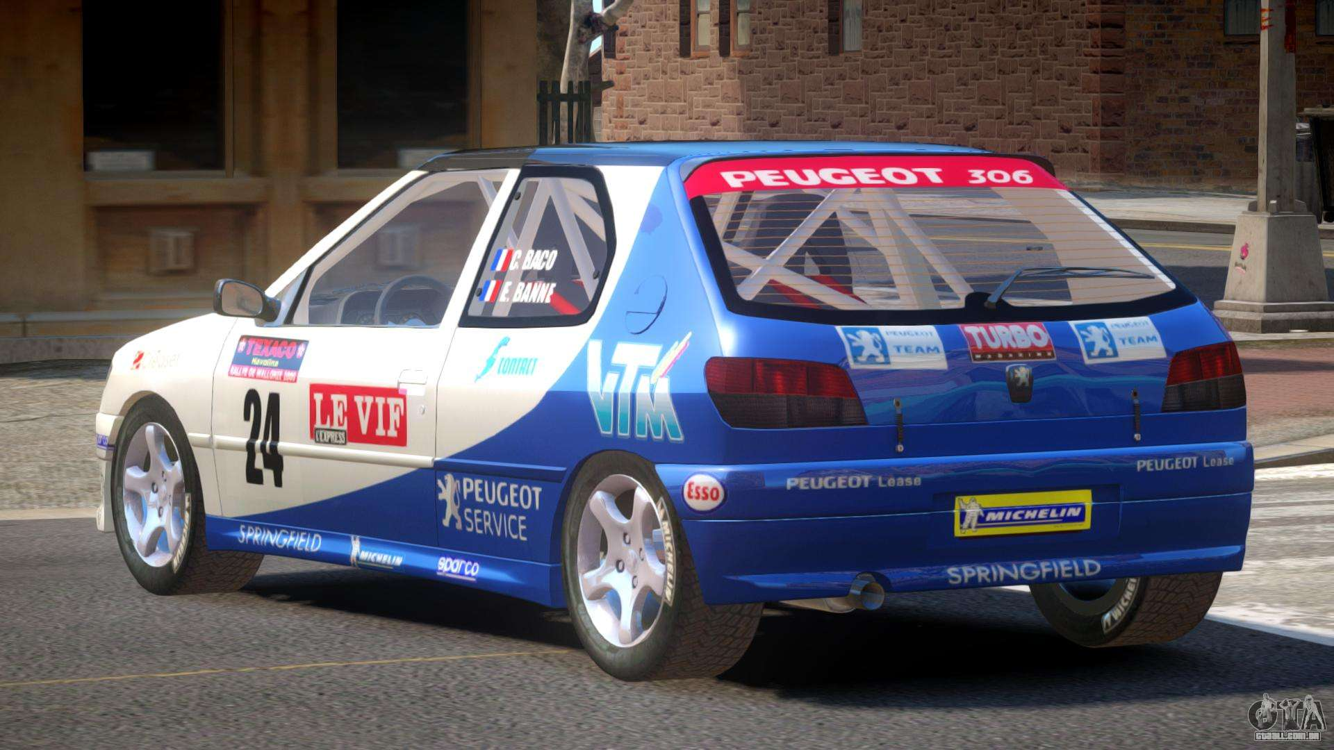 Peugeot 306 L Tuning Para Gta 4
