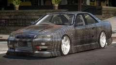 Nissan Skyline R34 SRS PJ5 para GTA 4