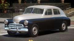 1955 GAZ M20V para GTA 4