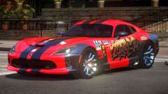 Dodge Viper SRT D-Tuned PJ1 para GTA 4