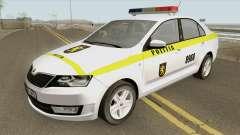 Skoda Rapid (Politia Republica Moldova) 2016 para GTA San Andreas