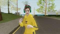 Random Female Skin V2 (Sport Gym) para GTA San Andreas