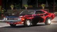 1972 Dodge Challenger RT PJ2 para GTA 4