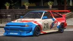 Toyota Corolla GT S-Tuning PJ4 para GTA 4
