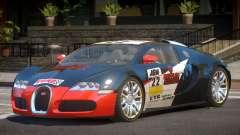Bugatti Veyron 16.4 S-Tuned PJ3 para GTA 4