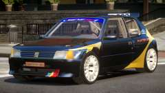 Peugeot 205 S-Tuning para GTA 4