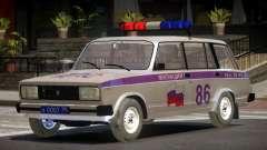 VAZ 2104 Police para GTA 4