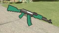 AK47 Pixels (Minecraft) para GTA San Andreas