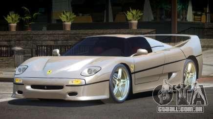 Ferrari F50 GT para GTA 4