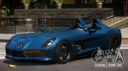 Mercedes Benz SLR Custom para GTA 4
