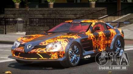 Mercedes Benz SLR H-Style PJ1 para GTA 4