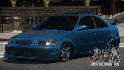 Honda Civic D-Tuned para GTA 4