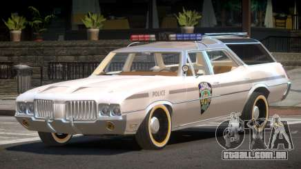 Oldsmobile Vista Cruiser RS Police para GTA 4