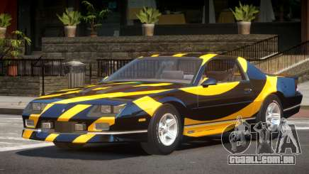 Chevrolet Camaro IR PJ3 para GTA 4