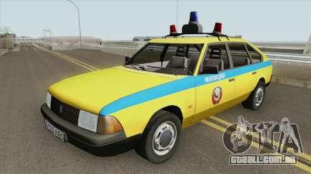 21418 AZLK Moskvich (GAI) 1987 para GTA San Andreas