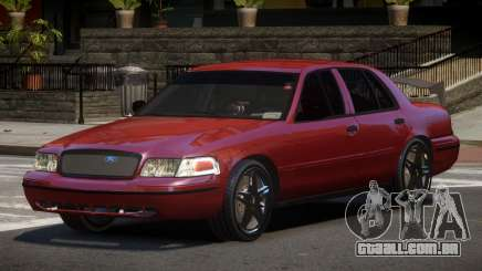 Ford Crown Victoria R-Tuned para GTA 4