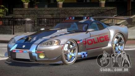 Dodge Viper SRT Police V1.1 para GTA 4