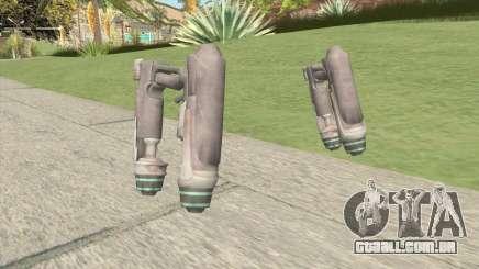 Starlord Gun para GTA San Andreas